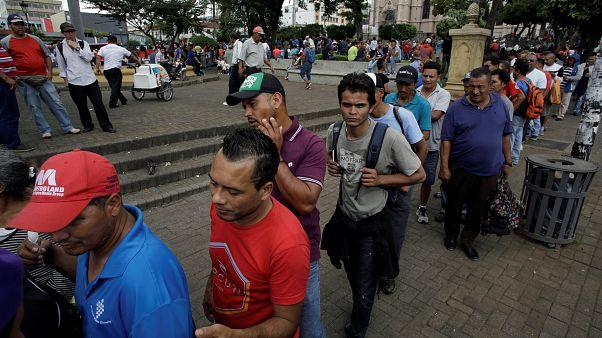 Nicaragua : l'exil vers le Costa Rica