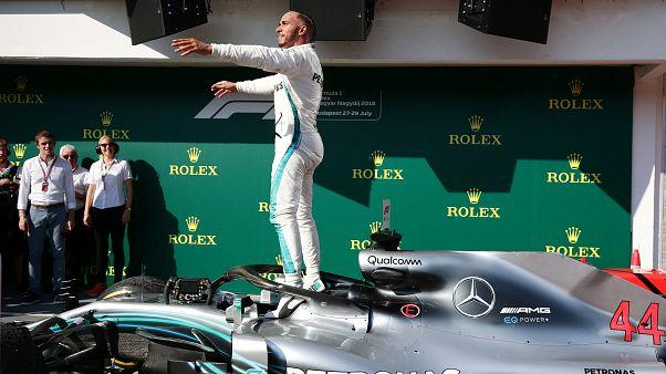 GP d'Ungheria, trionfa Hamilton