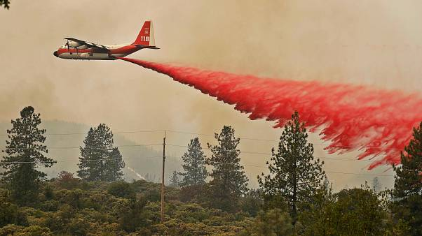 ABD'de yangın: 6 ölü, 500 bina kül oldu, 50 bin tahliye