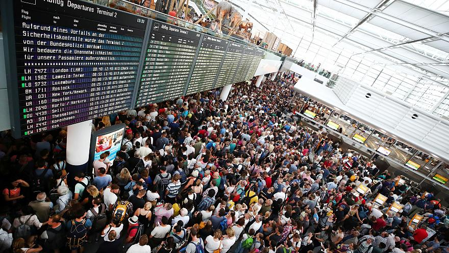 Múlik a káosz a müncheni reptéren