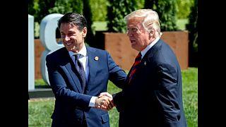 Giuseppe Conte, un Italien à Washington