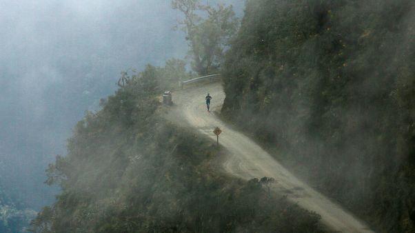 Bolivie : une course de l'extrême en haute montagne