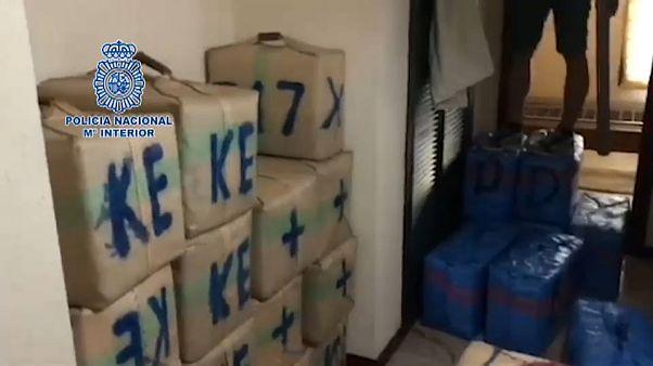 Intervenidos 3.000 kilos de hachís en el Campo de Gibraltar