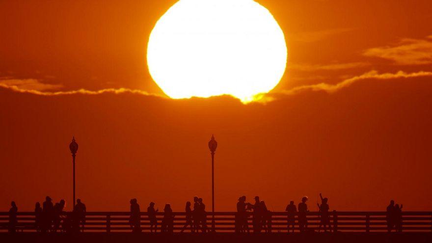 Kaliforniya'da Temmuz ayında sıcaklık rekoru kırıldı