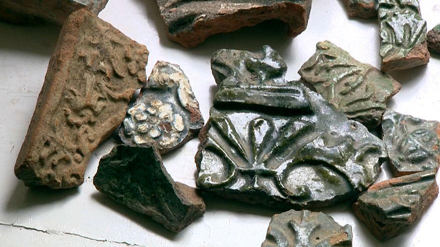 Freigelegt: Überreste der einstigen Großen Synagoge von Vilnius