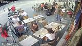 French student slapped for standing up to harasser