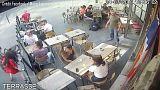El vídeo de una agresión a una joven francesa que se volvió viral
