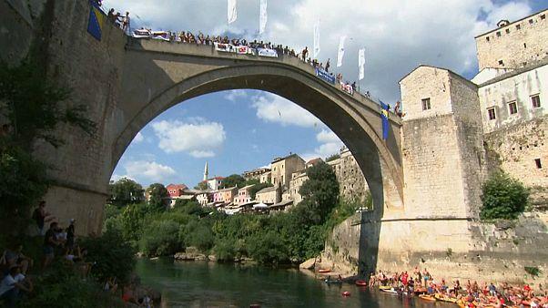 Mostar Köprüsü atlama yarışması