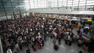 Munich Airport returns to normal operations after a weekend of delays and cancellations