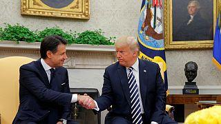 Einwanderung und Handel: Trump und Conte betonen Gemeinsamkeiten