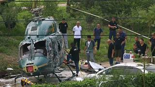 China: Hubschrauber abgestürzt