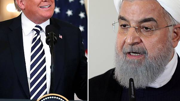 President Donald Trump hinted he was open to meeting with Iranian leaders