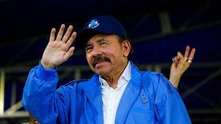 Nicaragua's President Daniel Ortega in Managua, Nicaragua July 7, 2018.