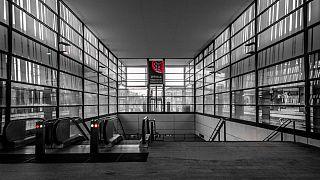 Uppsala train station, Sweden