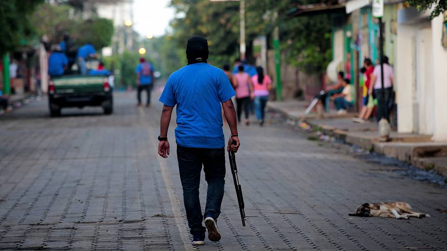 Ortega admite la acción de parapolicías enmascarados en la entrevista con Euronews