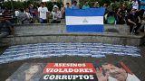 Nicaraguenses procuram refúgio fora do país
