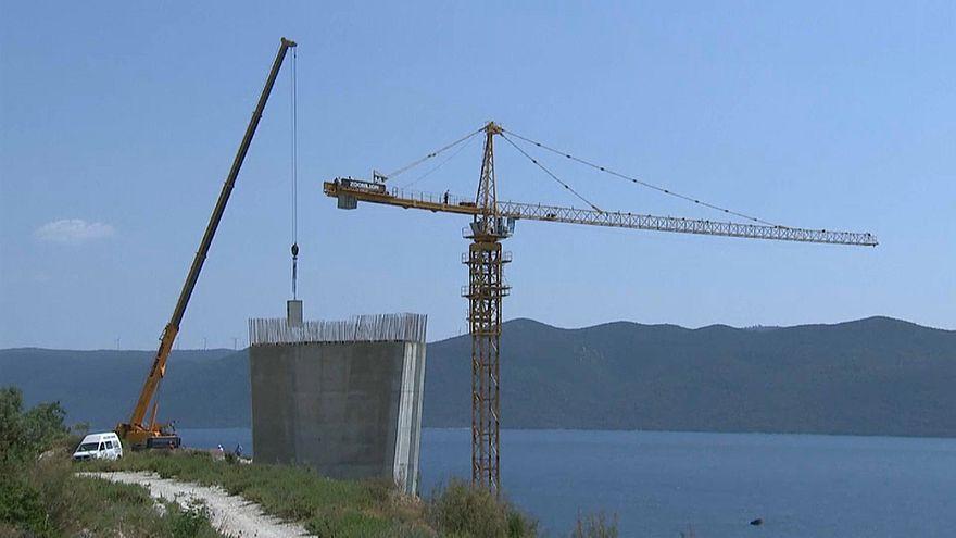 Pelješac-Brücke: Beginn der Bauarbeiten