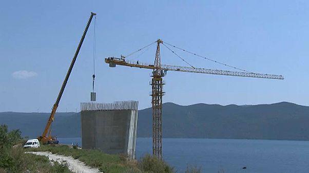 Horvát híd miatt tiltakozik Bosznia