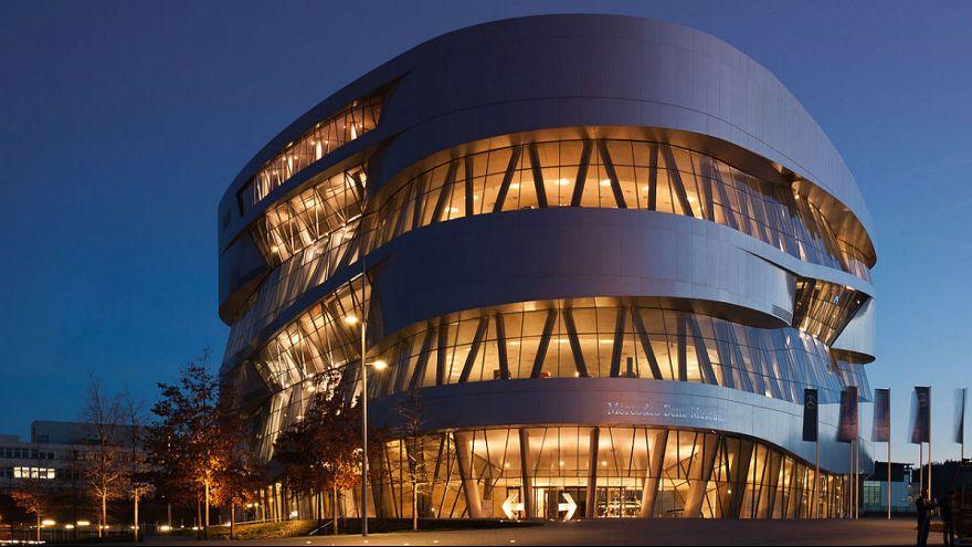 موزه مرسدس بنز در اشتوتگارت آلمان