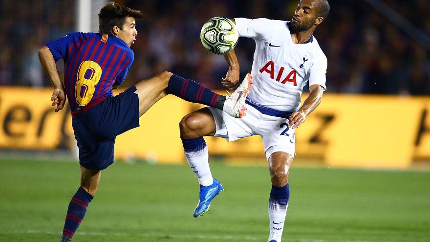 Der FC Barcelona bereitet sich derzeit in den USA auf die neue Saison vor.