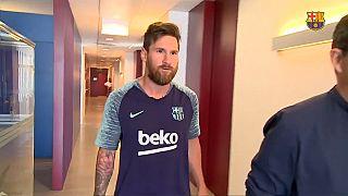 """Dopo CR7, anche Messi torna al """"lavoro"""""""