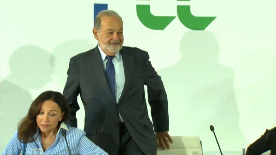 """Carlos Slim: """"El mejor muro es la inversión en México"""""""