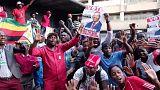 Tensa espera de los resultados electorales en Zimbabue