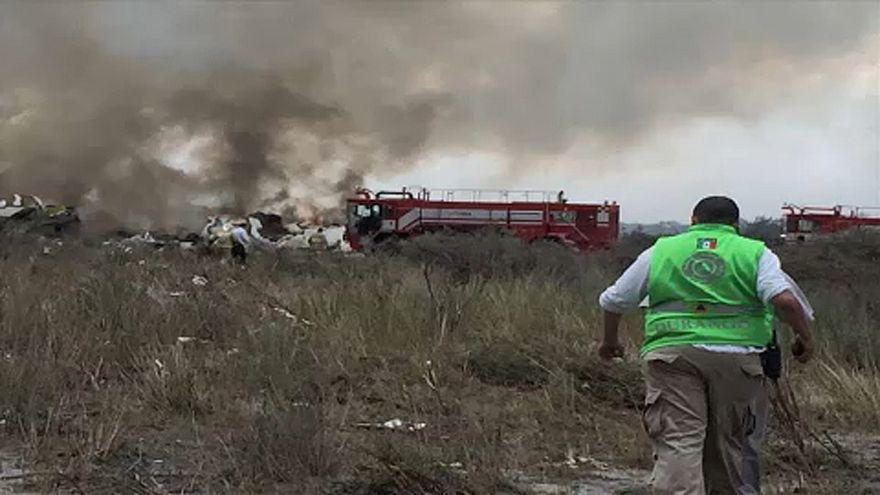 Felszállás után esett le egy mexikói utasszállító repülőgép