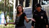 Pussy Riot отпустили на свободу