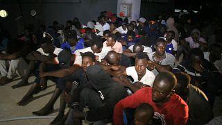 La ONU, pendiente de los desembarcos en Libia