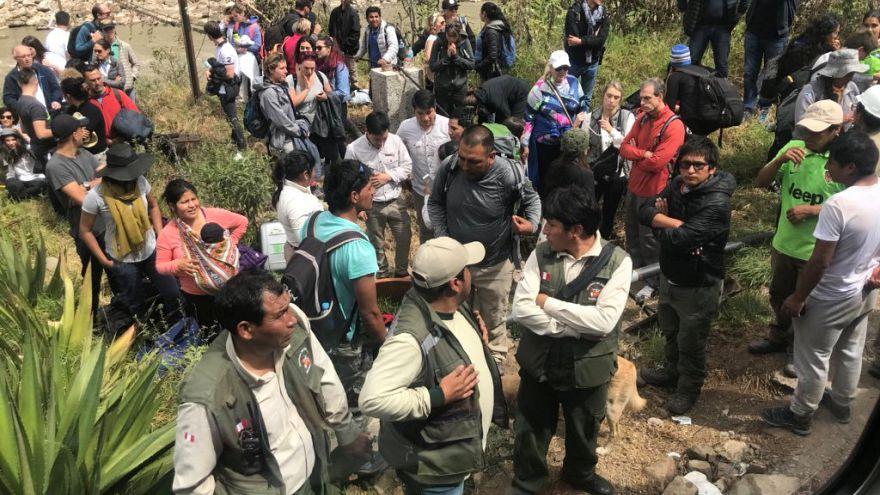 Peru'da protesto tren kazasına neden oldu: 23 yaralı
