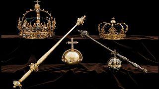 تاج سلطنتی سوئد به سرقت رفت