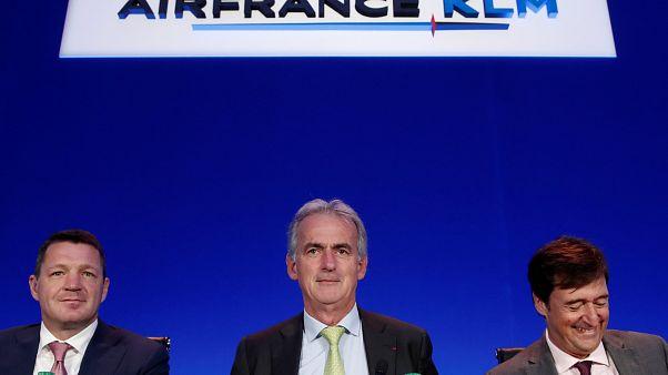 Air France-KLM dans le vert malgré la grève