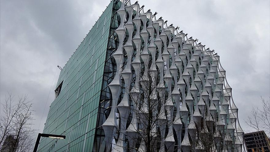 The US embassy in Battersea, London.