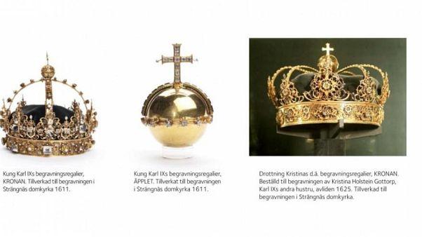 Diebe stehlen Schwedens Kronjuwelen in filmreifem Coup