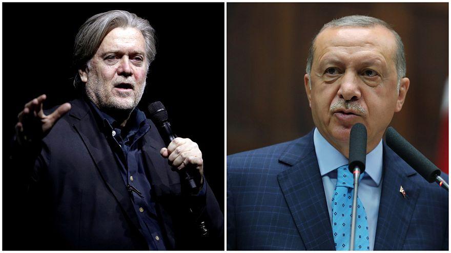 Trump'ın eski danışmanı Bannon: Erdoğan halifelik kurmak istiyor