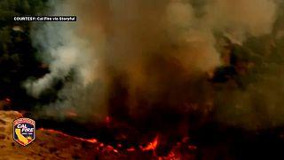 Verheerende Waldbrände in Kalifornien