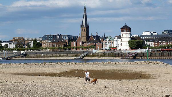 """Alemanha e Dinamarca """"adaptam-se"""" a onda de calor"""