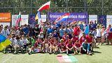 Gyermekotthonok lakóinak rendeztek mini foci vb-t Kecskeméten