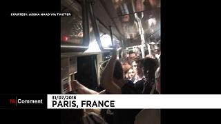 Több száz embert evakuáltak a párizsi metróból
