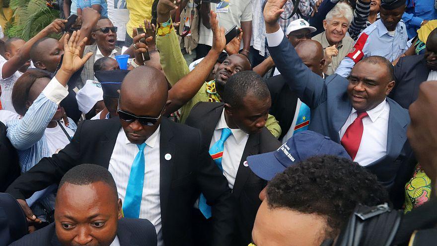 Jean-Pierre Bemba accueilli en triomphe en RDC