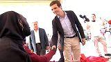 """Pablo Casado critica el supuesto """"efecto llamada"""" de la política migratoria del PSOE"""