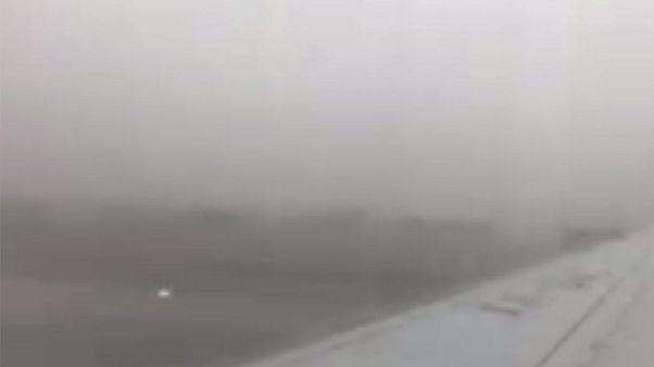 Video zeigt Moment des Flugzeugasturzes in Mexiko mit 103 Überlebenden