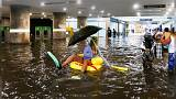 Une gare transformée en piscine en Suède