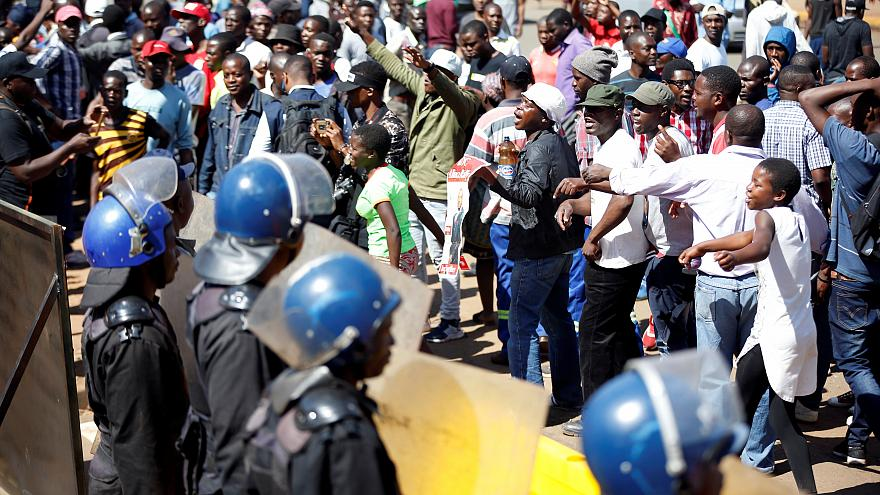 Three killed as Zimbabwe troops, protesters clash after vote