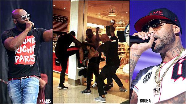 Fransa: Birbirine giren rapçiler Paris havaalanını yerle bir etti