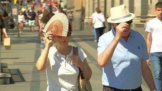 Iberische Halbinsel erwartet Temperaturen bis zu 45 Grad