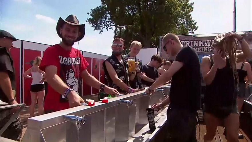 metal müzik festivali, almanya, hava sıcaklığı