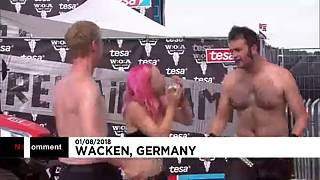 Calor bate recordes na Alemanha...