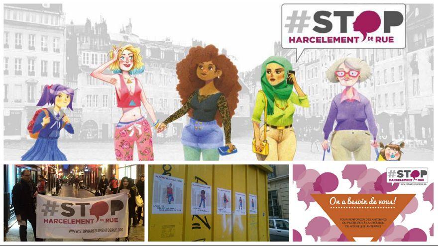 دانشجوی آزاردیده پاریسی تارنمایی برای شهادت زنان قربانی راه اندازی کرد